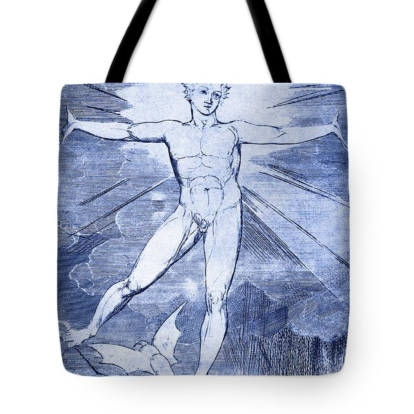 Glad Day By William Blake Tote Bag