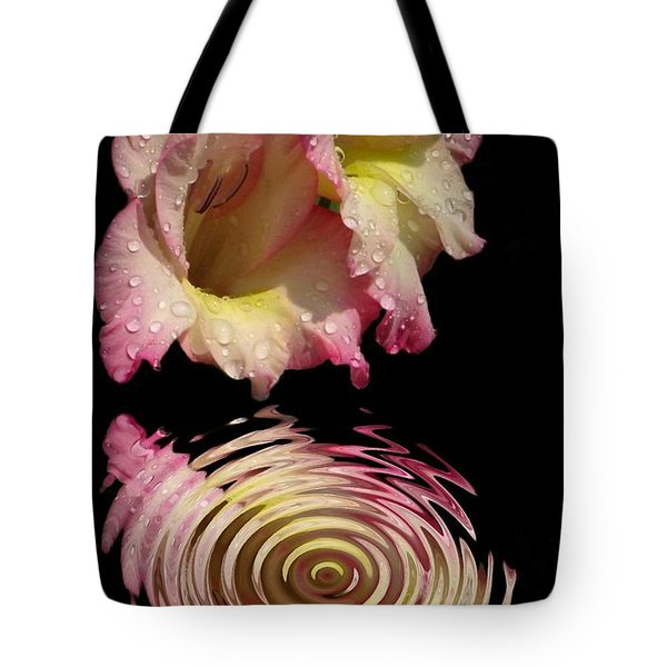Glad Drip Tote Bag by Rick Friedle