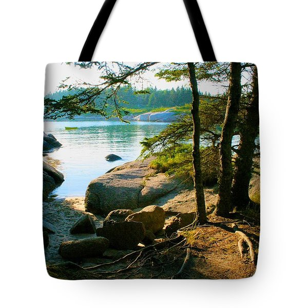 Glade To The Side Of Sand Beach Tote Bag