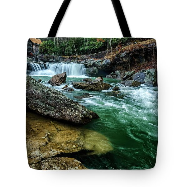 Glade Creek And Grist Mill Tote Bag