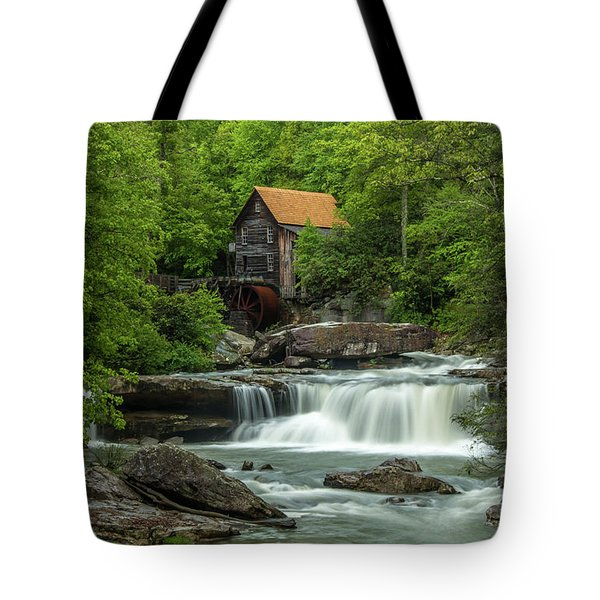 Glade Creek Grist Mill In May Tote Bag