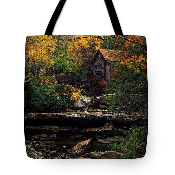 Glades Creek Grist Mill West Virginia Tote Bag