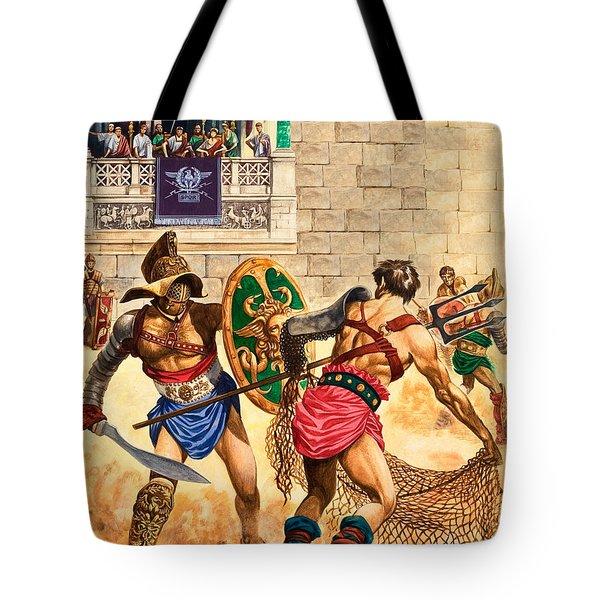 Gladiators Tote Bag