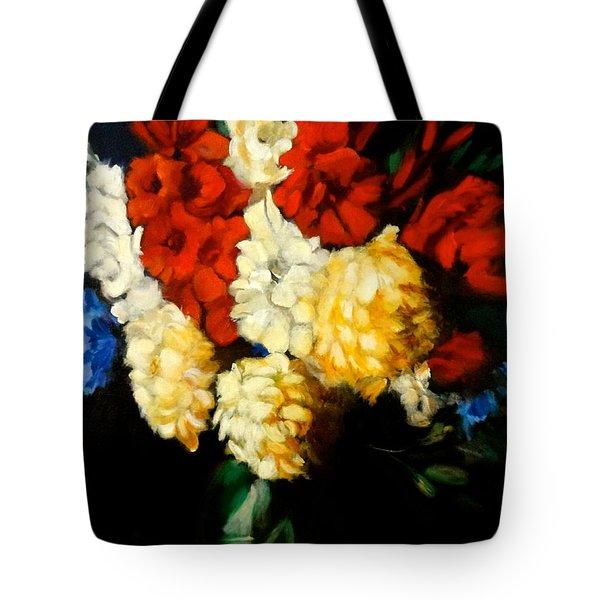 Gladiolas Tote Bag