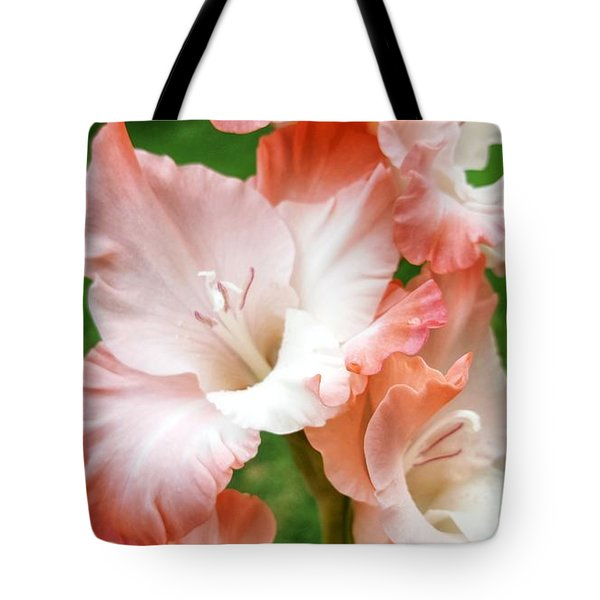 Gladiolus Ruffles  Tote Bag
