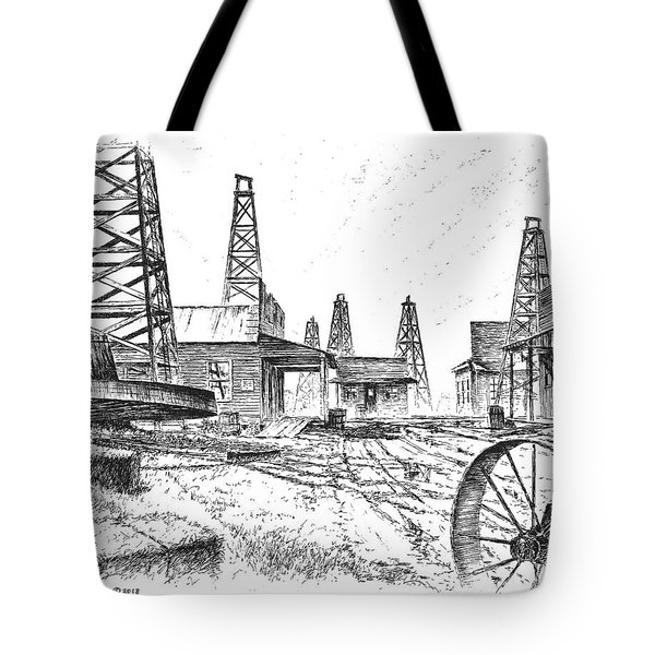 Gladys City Tote Bag