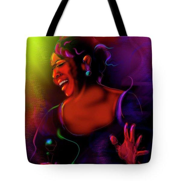 Gladys Knight Tote Bag