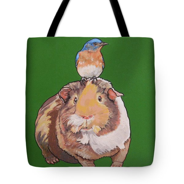 Gladys The Guinea Pig Tote Bag