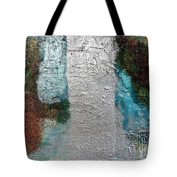 Glamorized Abstract Tote Bag by Marsha Heiken