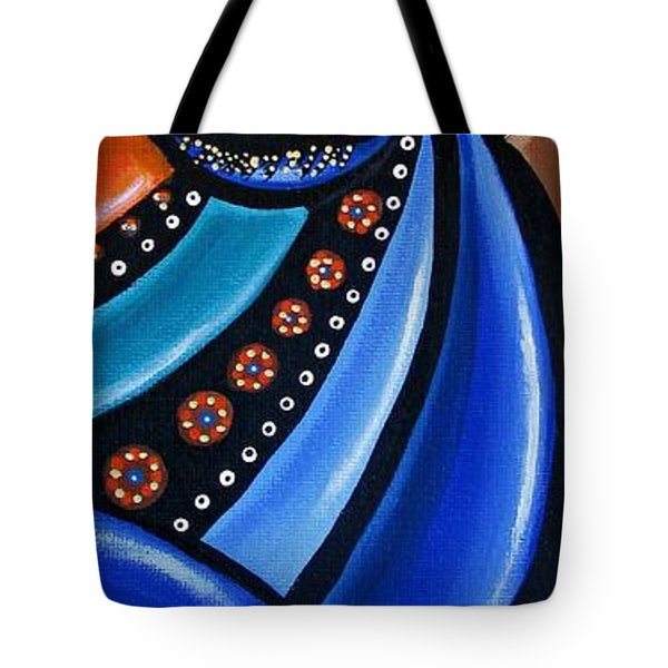 Abstract Eye Art Acrylic Eye Painting Surreal Colorful Chromatic Artwork Tote Bag
