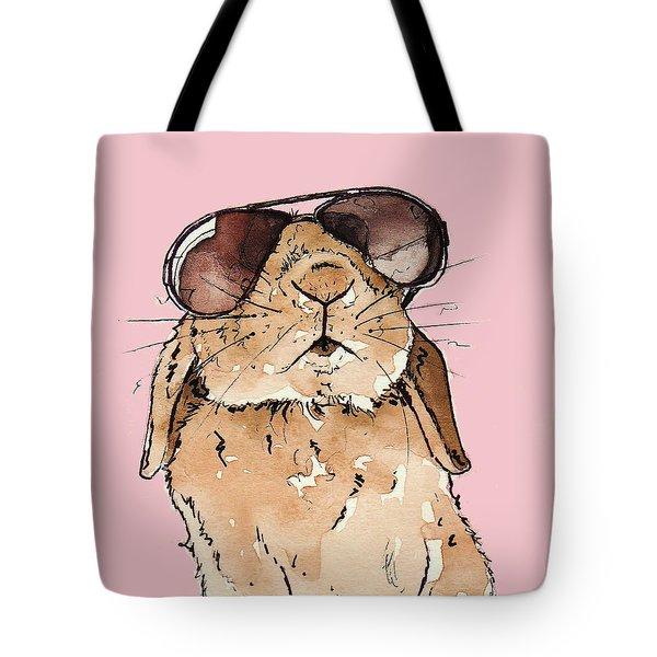 Glamorous Rabbit Tote Bag