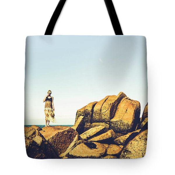 Glamour In Untouched Paradise Tote Bag