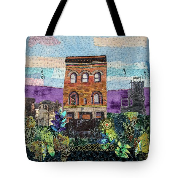 Glance At The Past II Tote Bag