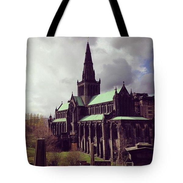 Lofty Devotion Tote Bag