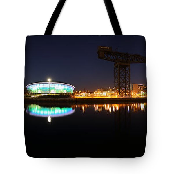 Glasgow Clyde Panorama Tote Bag