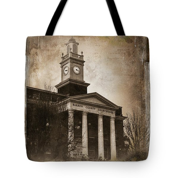 Glasgow Ky Courthouse Tote Bag