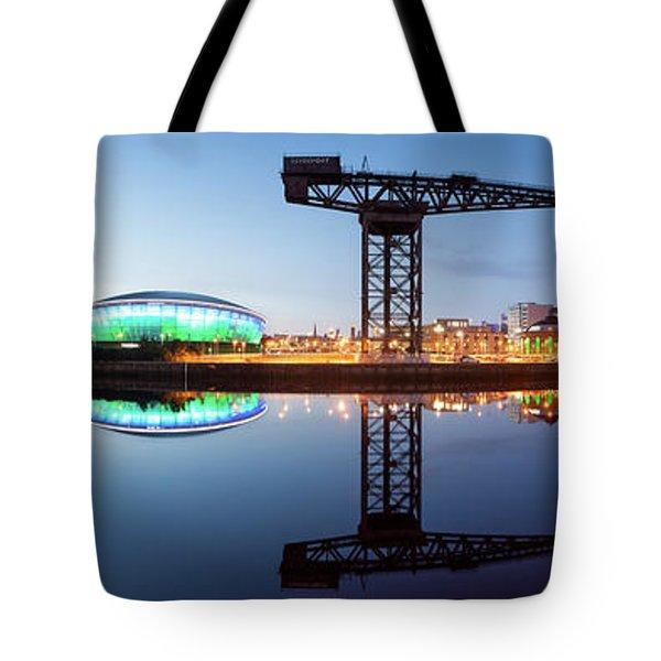 Glasgow Skyline Panorama Tote Bag