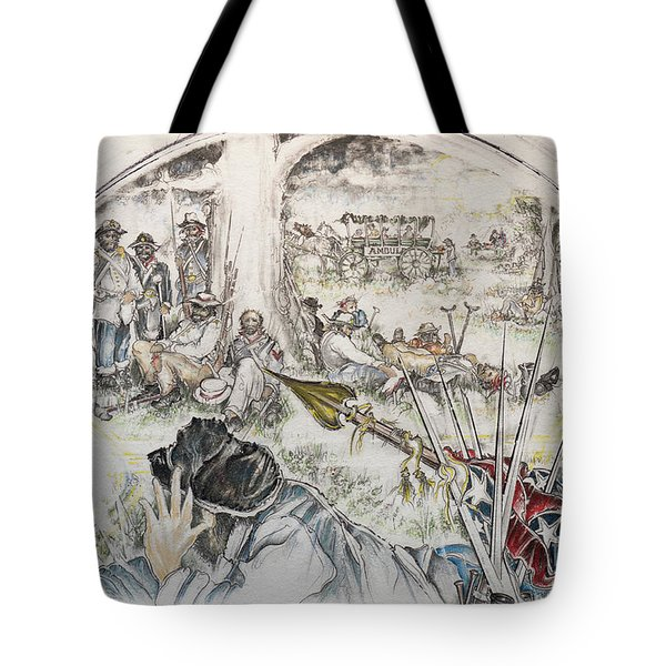 Glass Aftermath Tote Bag