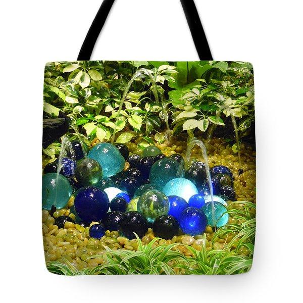 Glass Balls Display - Singapore Airport Tote Bag