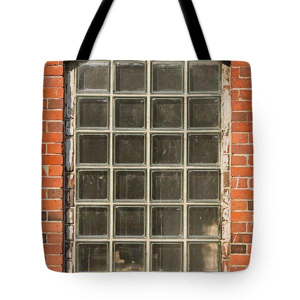 Glass Block Window Tote Bag