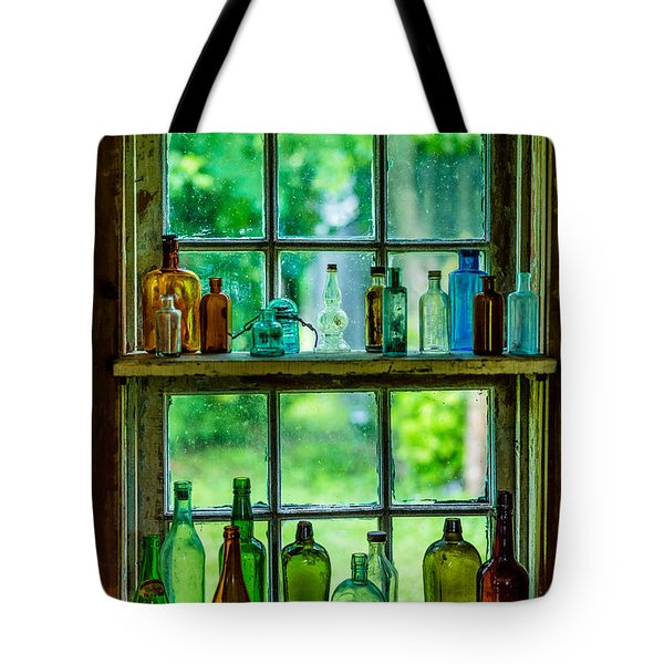 Glass Bottles Tote Bag