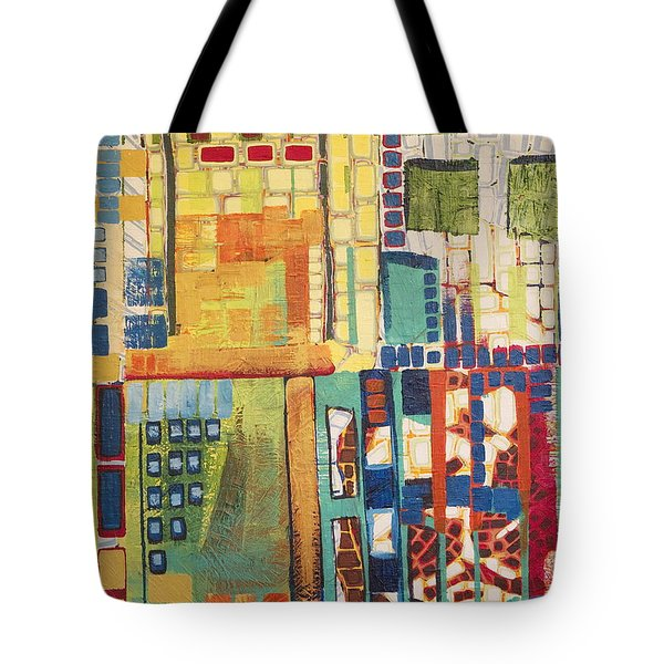 Tote Bag featuring the painting Glass Bottom Boeing by Donna Howard
