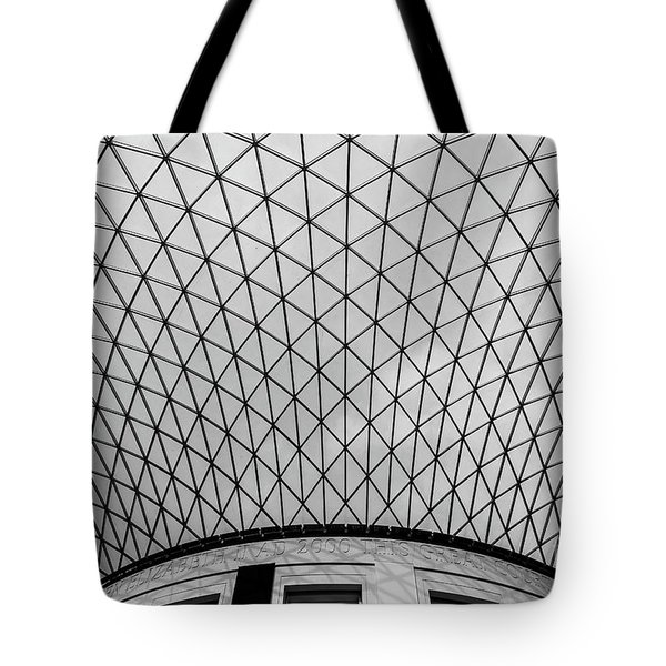 Tote Bag featuring the photograph Glass Ceiling by MGL Meiklejohn Graphics Licensing