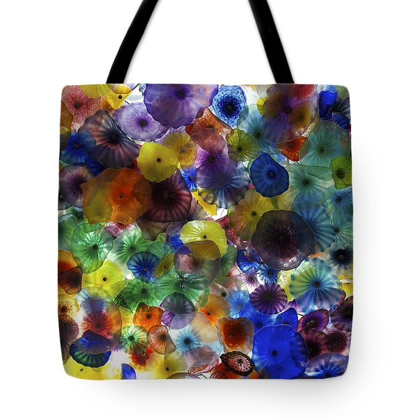 Glass Ceiling Tote Bag by Sandy Molinaro