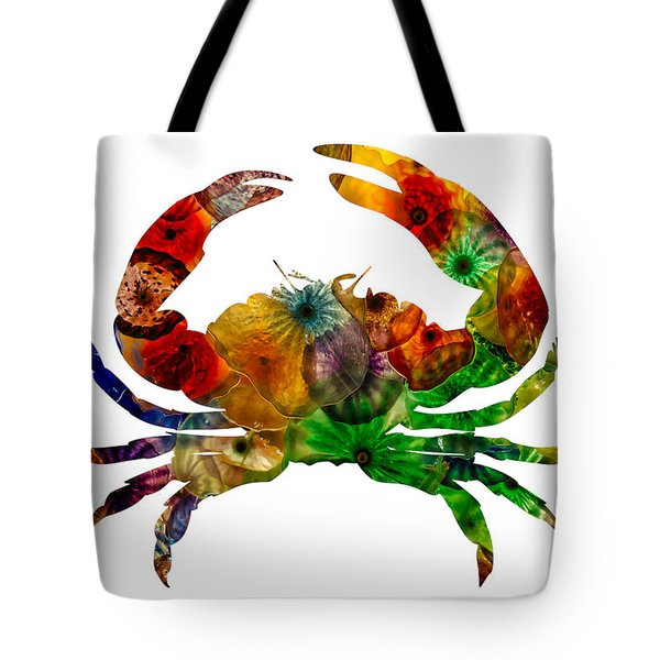 Glass Crab Tote Bag