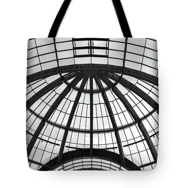 Tote Bag featuring the photograph Glass Dome by Corinne Rhode