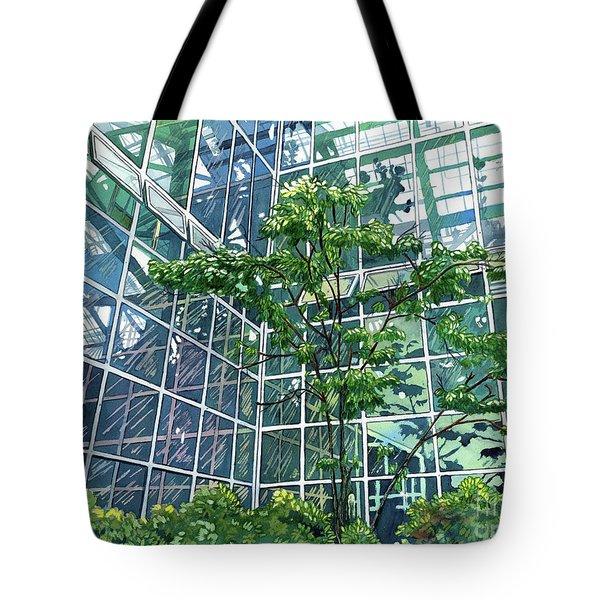 Glass Garden Tote Bag
