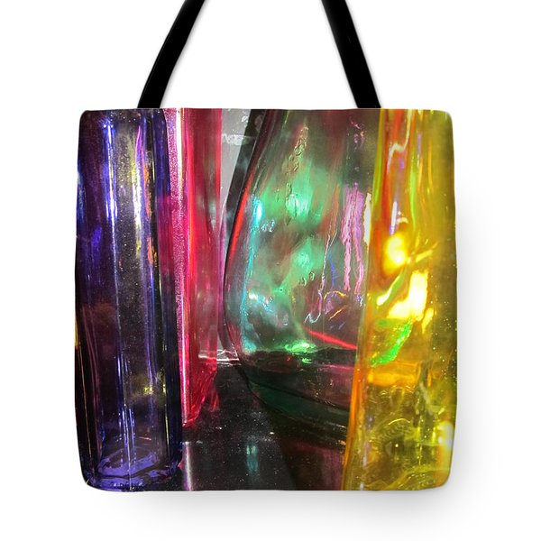Glass Gathering Tote Bag