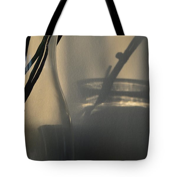 Glass Glaze And Light  Tote Bag by Lyle Crump