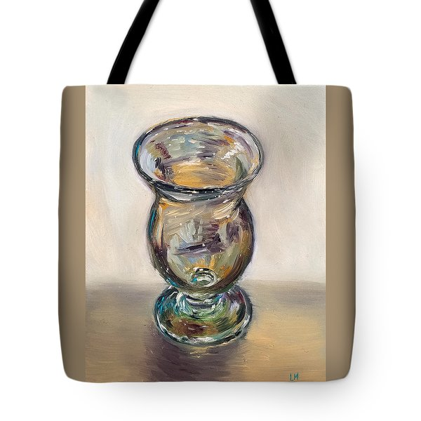 Glass Goblet Tote Bag