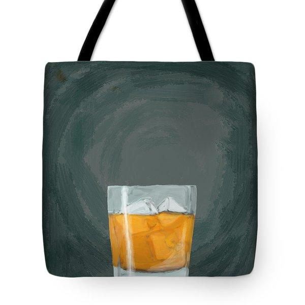 Glass, Ice,  Tote Bag by Keshava Shukla