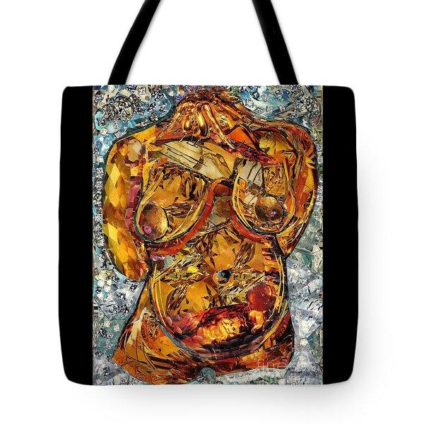 Glass Lady Tote Bag