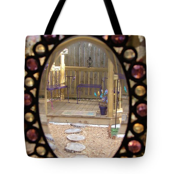 Glass Menagerie Tote Bag by Priscilla Richardson
