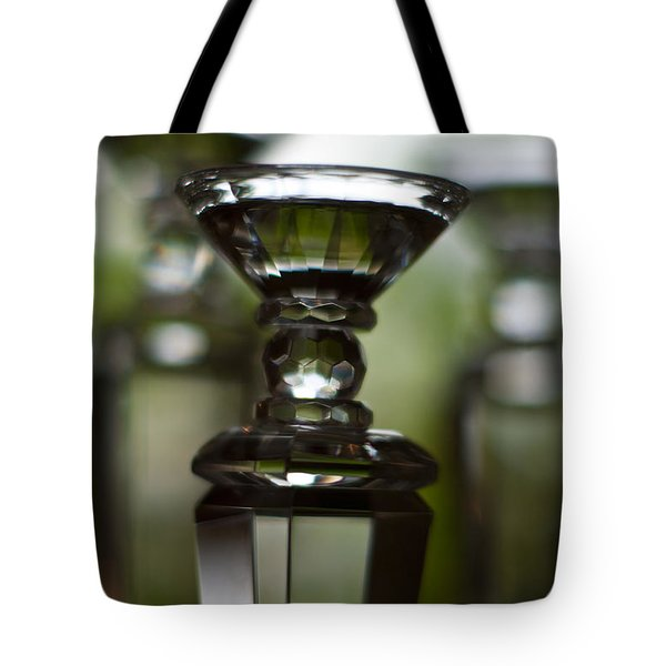 Glass Montage Tote Bag