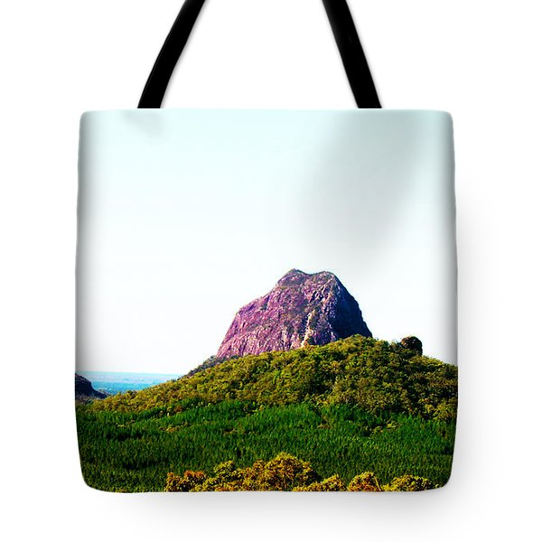 Glass Mountains - Extinct Volcanos Tote Bag by Susan Vineyard