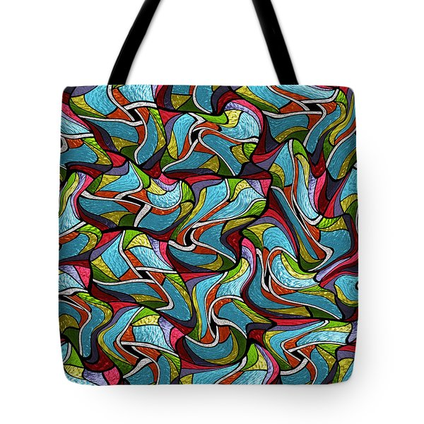 Glass Ochids2 Tote Bag