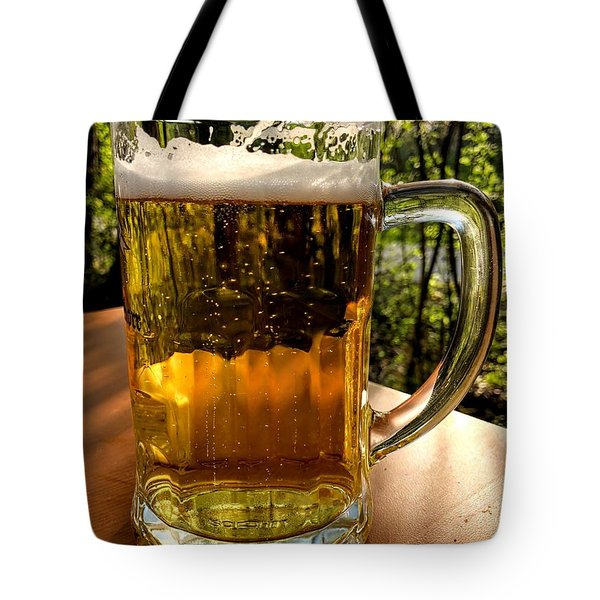 Glass Of Beer Tote Bag