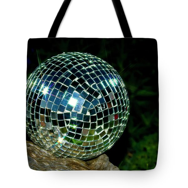 Glass On Wood Tote Bag by Albert Seger