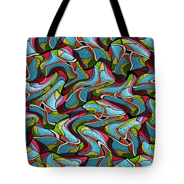 Glass Orchids1 Tote Bag