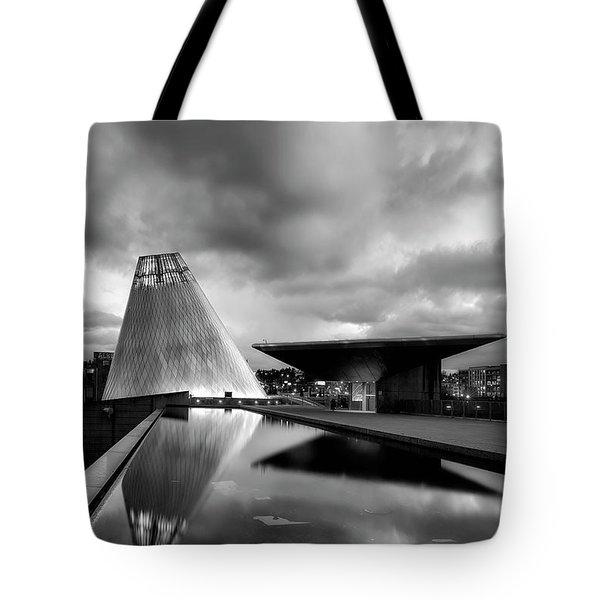 Glass Tote Bag by Ryan Manuel