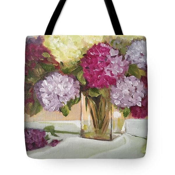 Glass Vase Tote Bag by Sharon Schultz