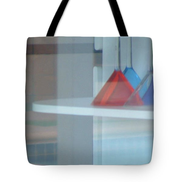 Glass Water Plastic Flutes Tote Bag