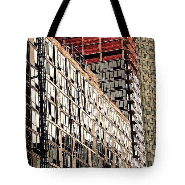 Glass Windows Tote Bag by Gillis Cone