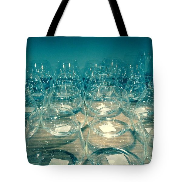 Tote Bag featuring the photograph Glasses by Alohi Fujimoto