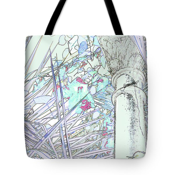 Tote Bag featuring the photograph Glasshouse Jungle by Nareeta Martin