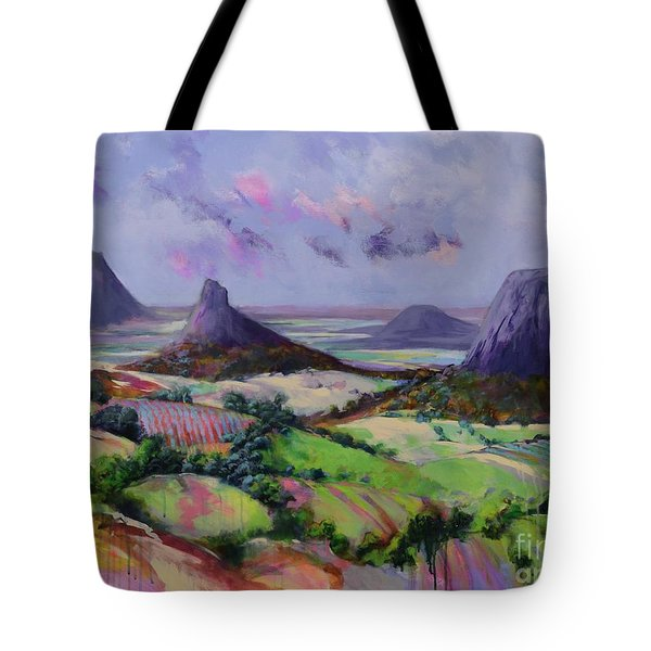 Glasshouse Mountains Dreaming Tote Bag